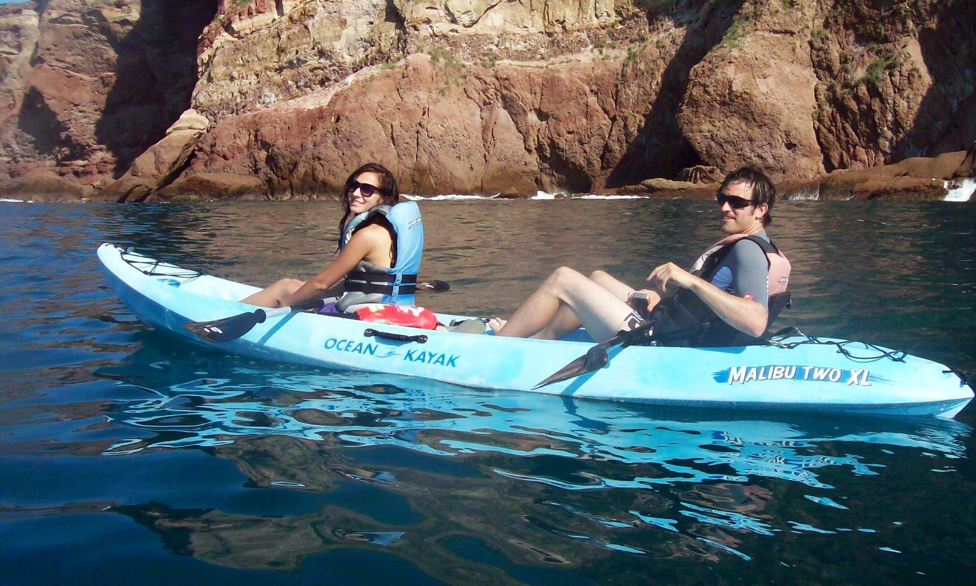 Kayak & Snorkel on the Mazatlán Islands