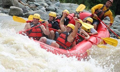 White Water Rafting Tours In Jaco