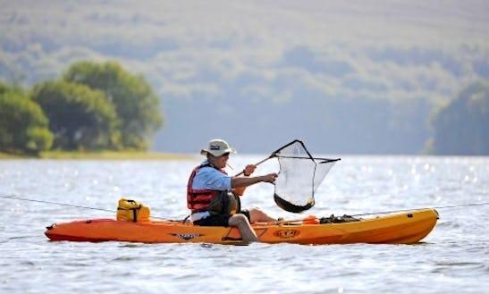 Kayak Fishing In Cornwall