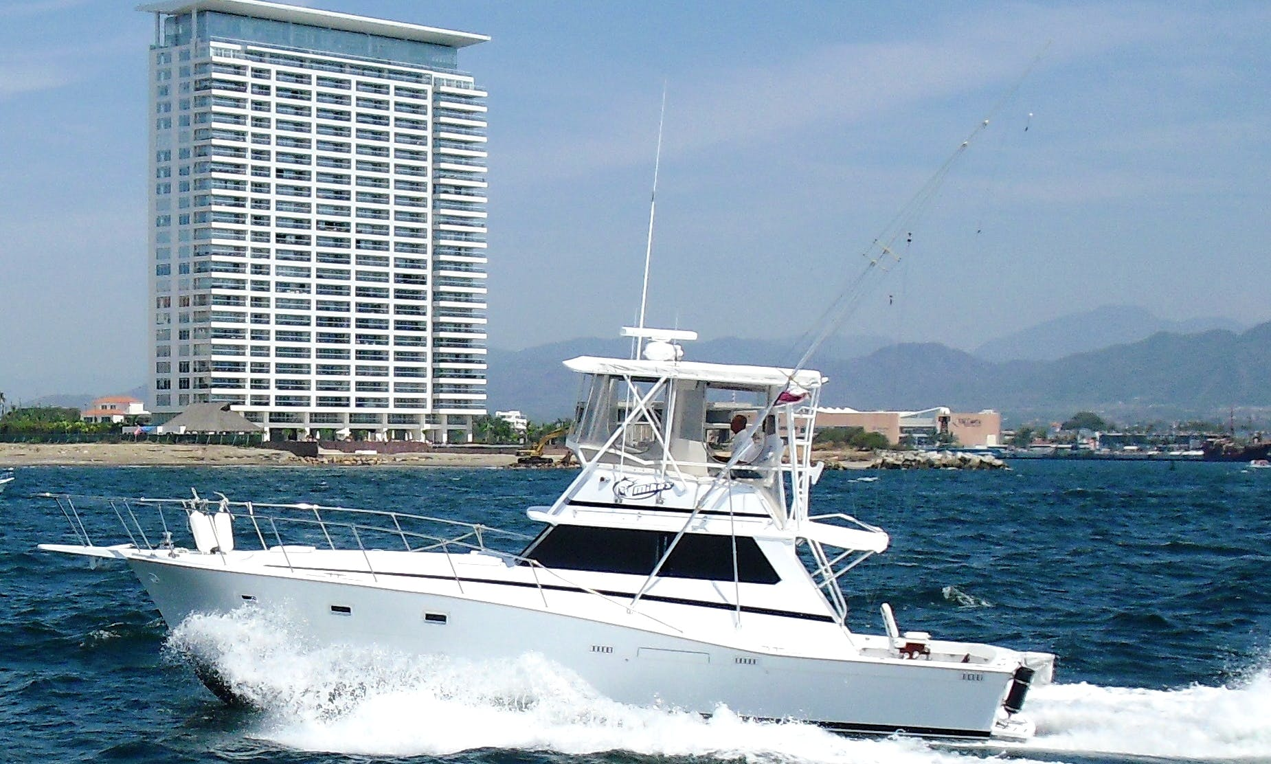 "Fishing Charter 44ft ""Isabella"" Sport Fisherman Yacht In Nuevo Vallarta, Mexico"
