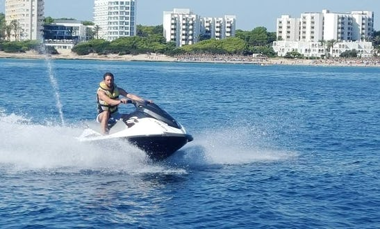 Ride The Waves On The Jet Ski Waverunner 1100 In Cala Millor