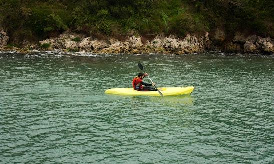 Kayak Rental In Courtenay, Canada