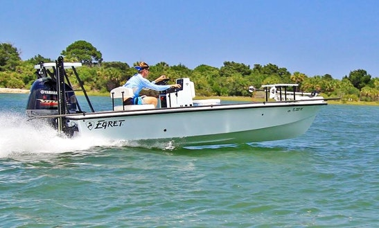 19' Bass Boat Charter In St Augustine, Florida