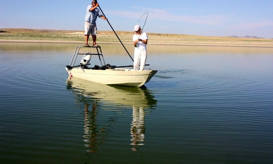 Enjoy Guided Fly Fishing On Center Console In Casper, Wyoming