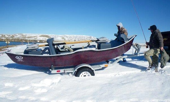 Spend A Day Fishing In Casper, Wyoming On A Row Boat