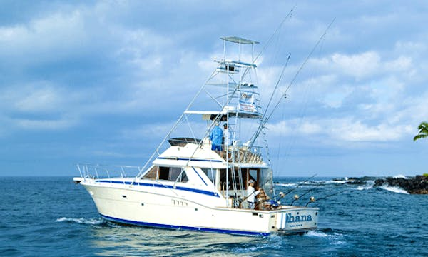 Sport Fishing at it's finest on the Ohana Charter in Kailua-Kona, Hawaii