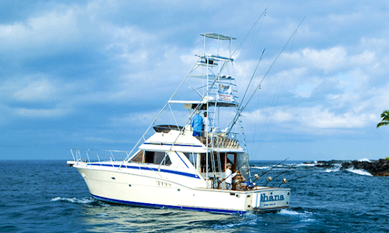 Sport Fishing At It's Finest On The Ohana Charter In Kailua-kona, Hawaii