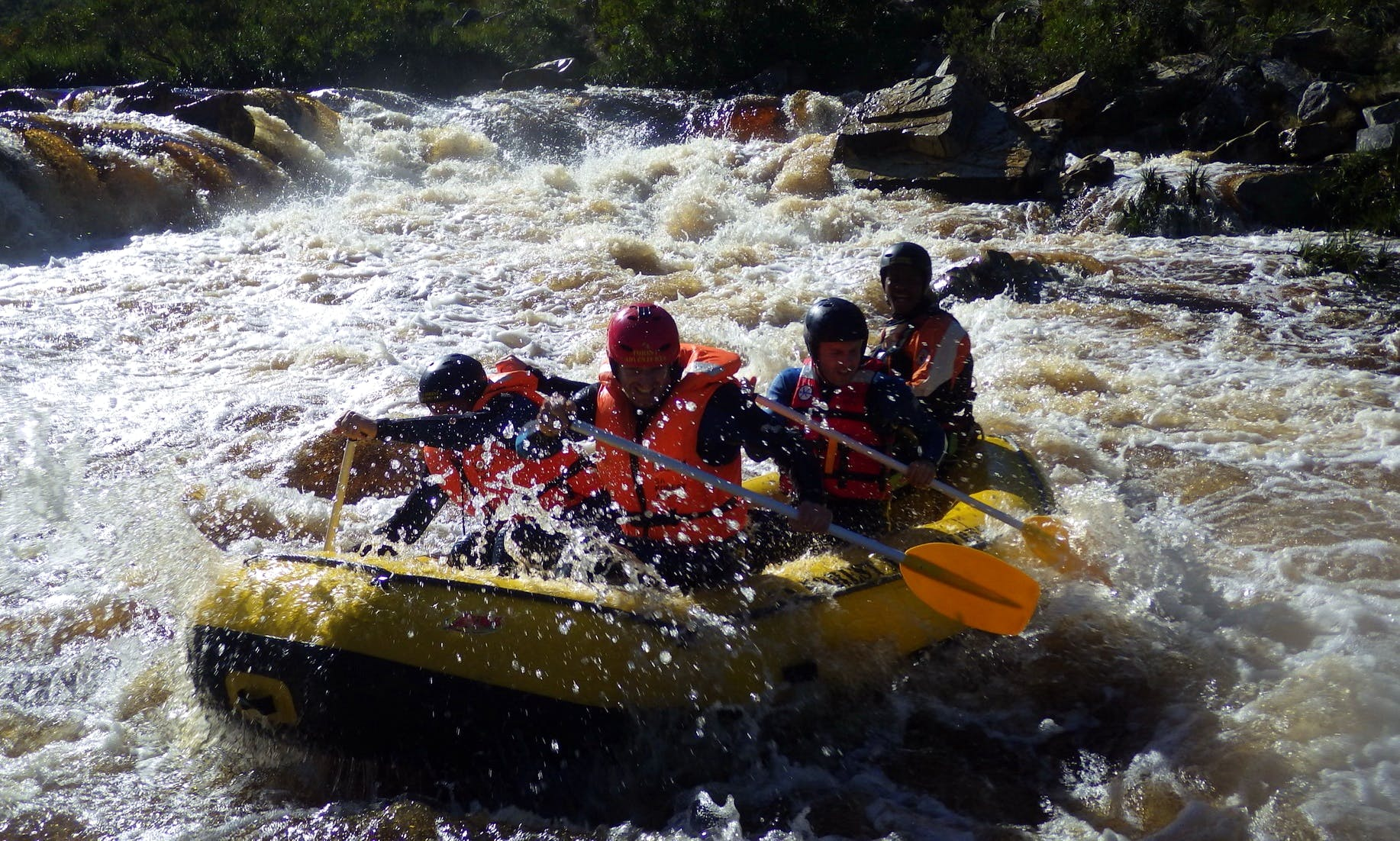 RAFTING in Cape Town, South Africa