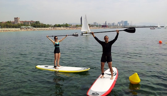 Sup Rental, Yoga And Courses- In Barcelona