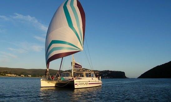 """The """"Head's Explorer"""" Catamaran In Knysna"""