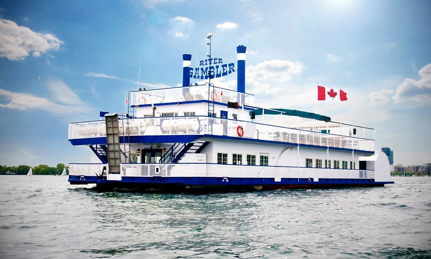 "Scenic Cruises Aboard the ""River Gambler"" in Toronto (minimum 150 guests please)"