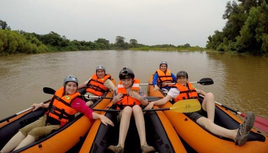 Kayak Tours On The Huatulco Bay, Mexico