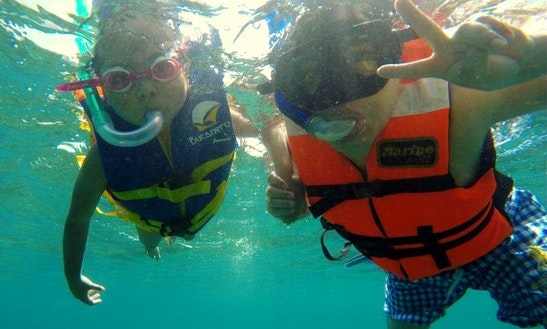 Snorkel Tours On The Huatulco Bay, Mexico