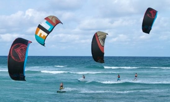 Windsurfing And Kiteboarding Lessons And Rentals In Miami Beach, Fl