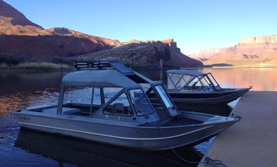 Bass Boat Fishing Charter In Page Arizona, United States