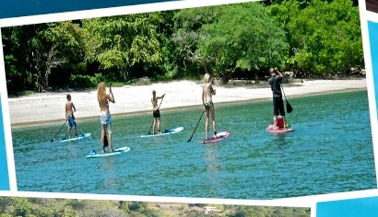 Standup Paddleboard Lessons, Tours With Snorkeling Excursions In Coco, Costa Rica