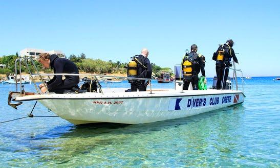 Diving Trips On A Speed Boat In Heraklion, Greece