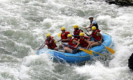 White Water River Rafting In Herradura