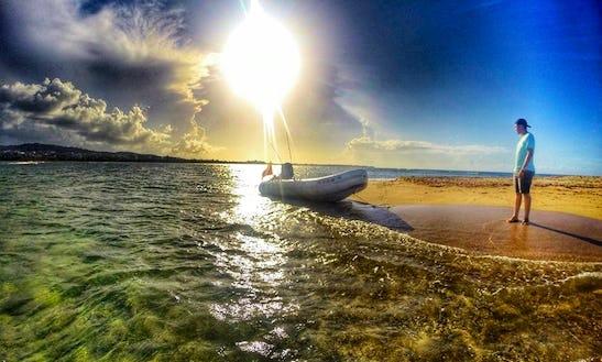 Enjoy 27 Ft Rib Fishing Trips In Fajardo, Puerto Rico