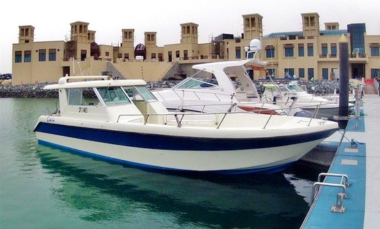 Fishing Charter On 35' Gulf Craft Sport Fisherman With Captain Carlos