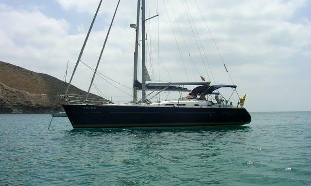 42' Sailing Yacht Charter In Melilla