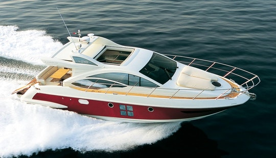 Charter The 43ft Azimut Motor Yacht In Jalisco, Mexico