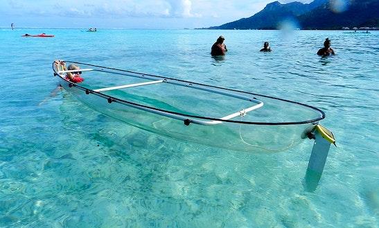 Transparent Kayak Tour In Playa Blanca