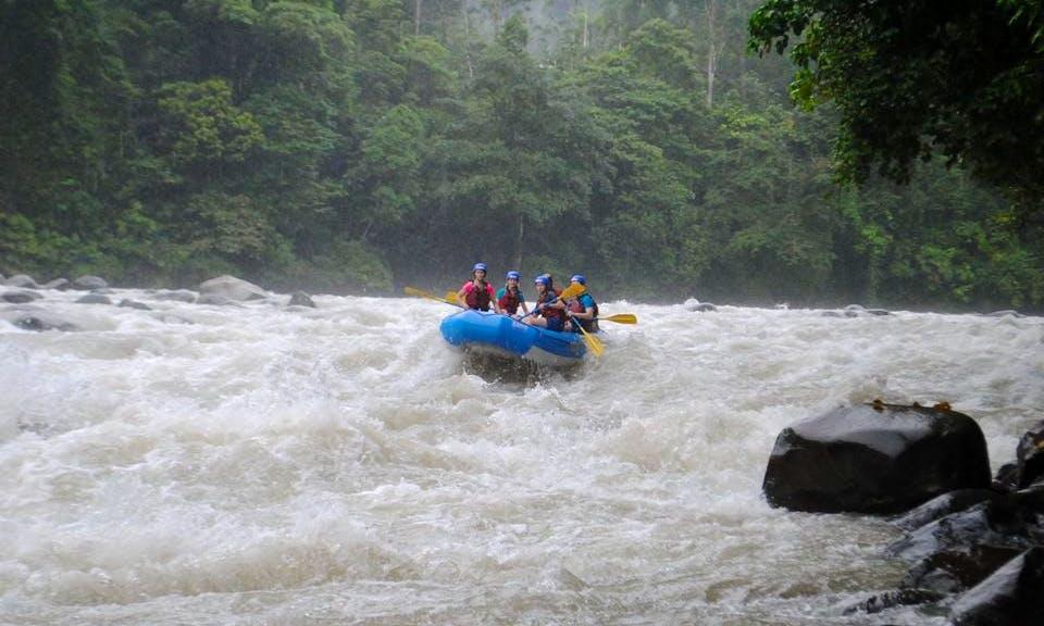 Most Fun River Rafting Adventure In Linda Vista, Costa Rica
