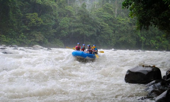 Most Fun River Rafting Adventure In Linda Vista, Costa Rica
