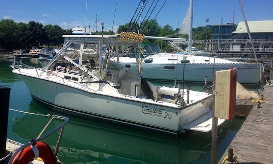 Fishing Charter Trips In Lake Ontario
