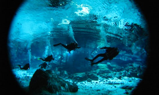 Diving Expeditions In Cenotes, Mexico
