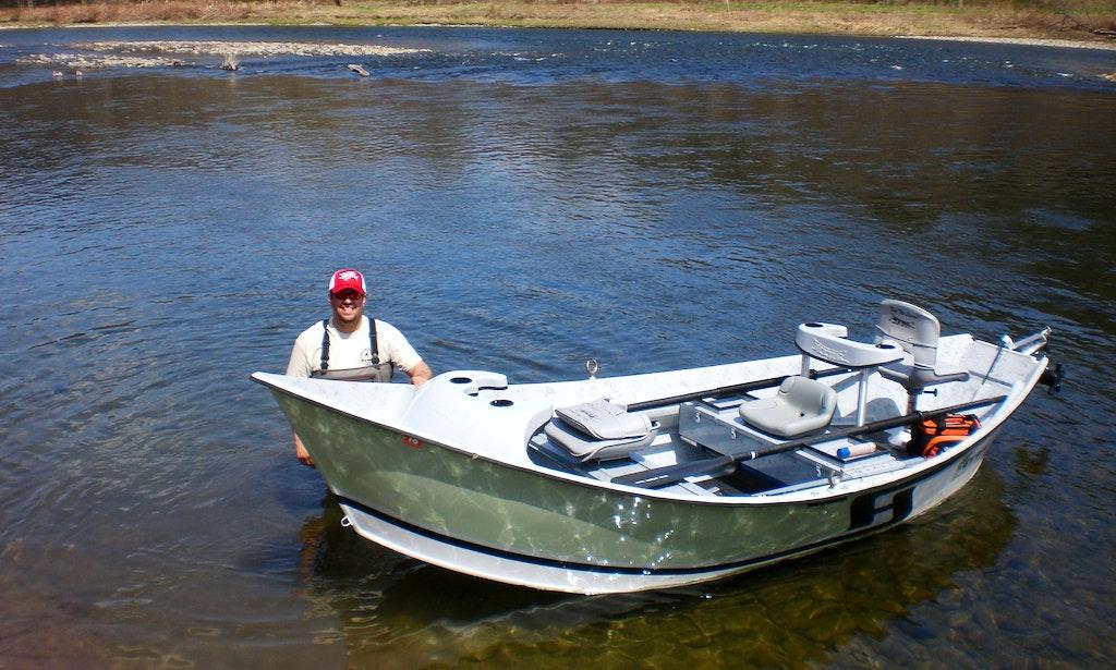 Drift boat fishing trips in east branch getmyboat for Drift boat fishing
