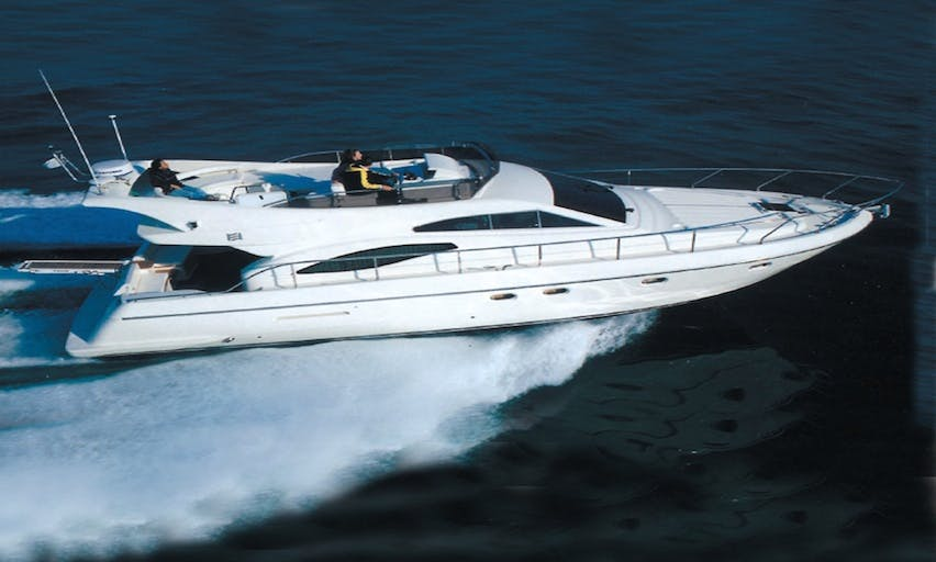 Charter 44' Ferretti Yacht In Vibo Valentia