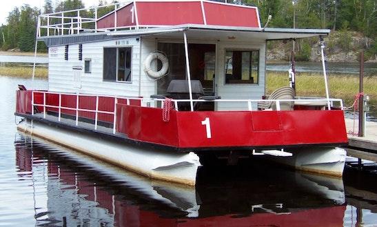 36' Kayot #1 Houseboat Rental In Babbitt