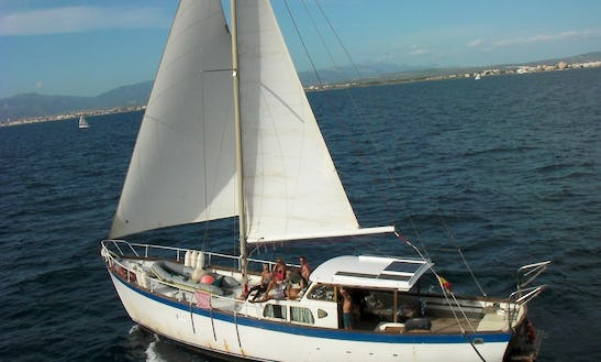 52' Classic Wooden Yacht In Palma