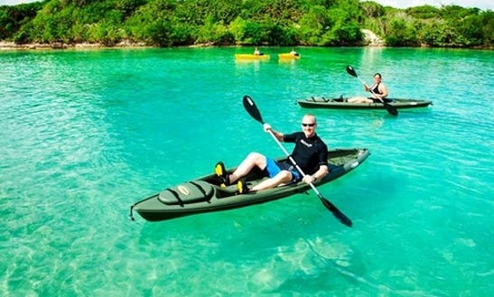 Kayaking & Snorkel Excursion In Half Moon Bay