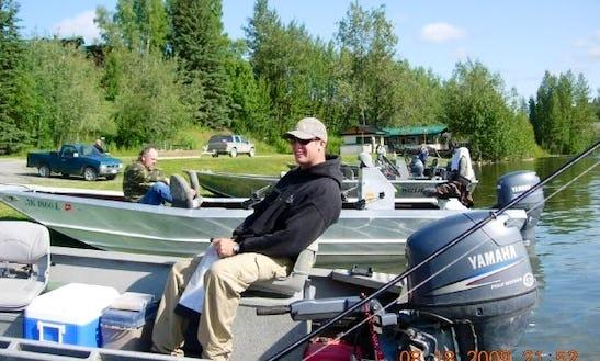 Guided Fishing On 17' Jon Boat In Sterling, Alaska
