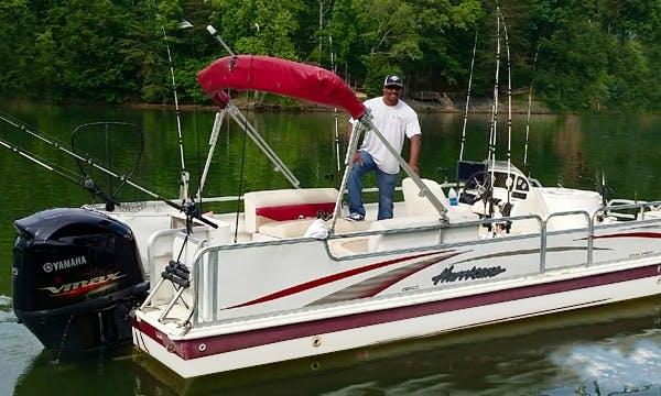 23' Hurricane Deck Boat In Hardy