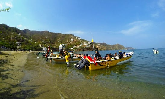 15ft Bass Boat Charter In Taganga, Colombia