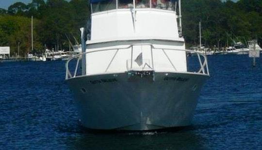 39' Striker Fishing Yacht Charter In Panama City Beach