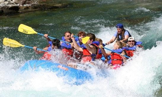 White Water Rafting On Flathead River