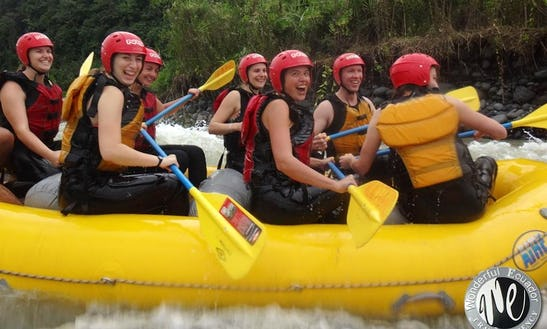 Whitewater Rafting Rides For Adventurous People In Banos De Agua Santa, Ecuador