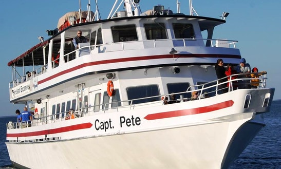 Private Cruises On 100' Passenger Boat In Gulfport, Ms