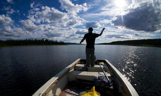 Guided Lake Fishing In Anchorage, Alaska
