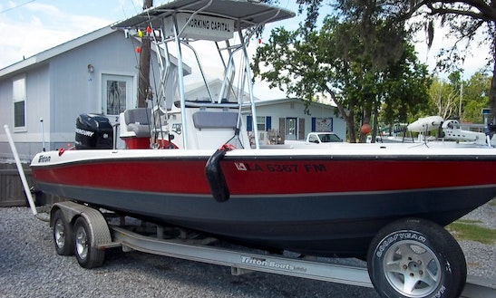 27' Center Console Fishing Boat In Lafitte, Louisiana United States