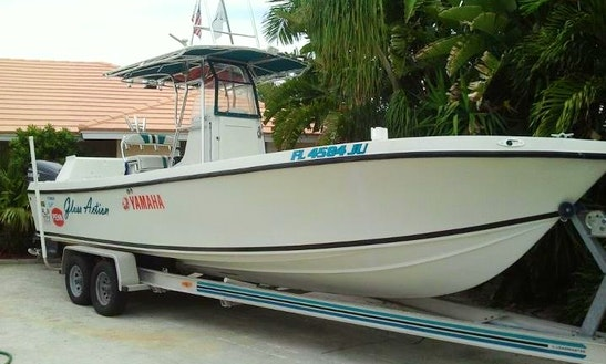 Enjoy Fishing In North Palm Beach, Florida On Center Console