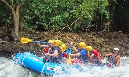 White Water Rafting In La Virgen