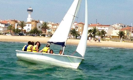 Sailboat In Sant Pere Pescador