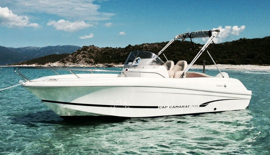 Jeanneau Cc-635 Open Boat Charter In Okrug Gornji