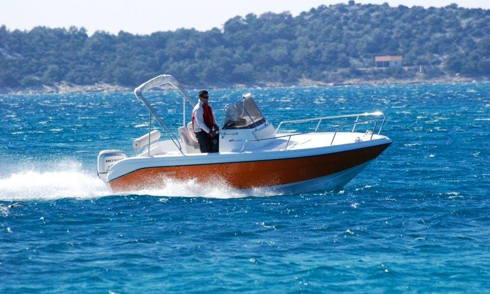 HM 22 Flyer Boat Charter in Okrug Gornji